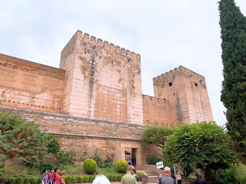 アルカサバ アルハンブラ宮殿 グラナダ