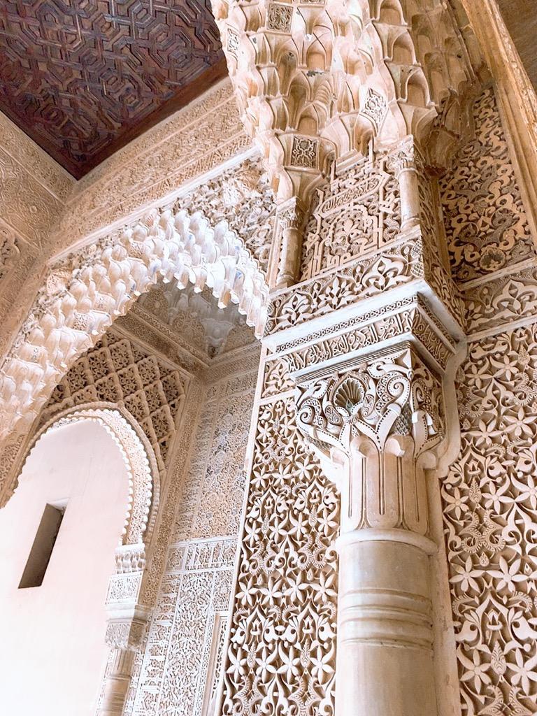 アルハンブラ宮殿 ナスル朝宮殿 グラナダ スペイン コマレス宮
