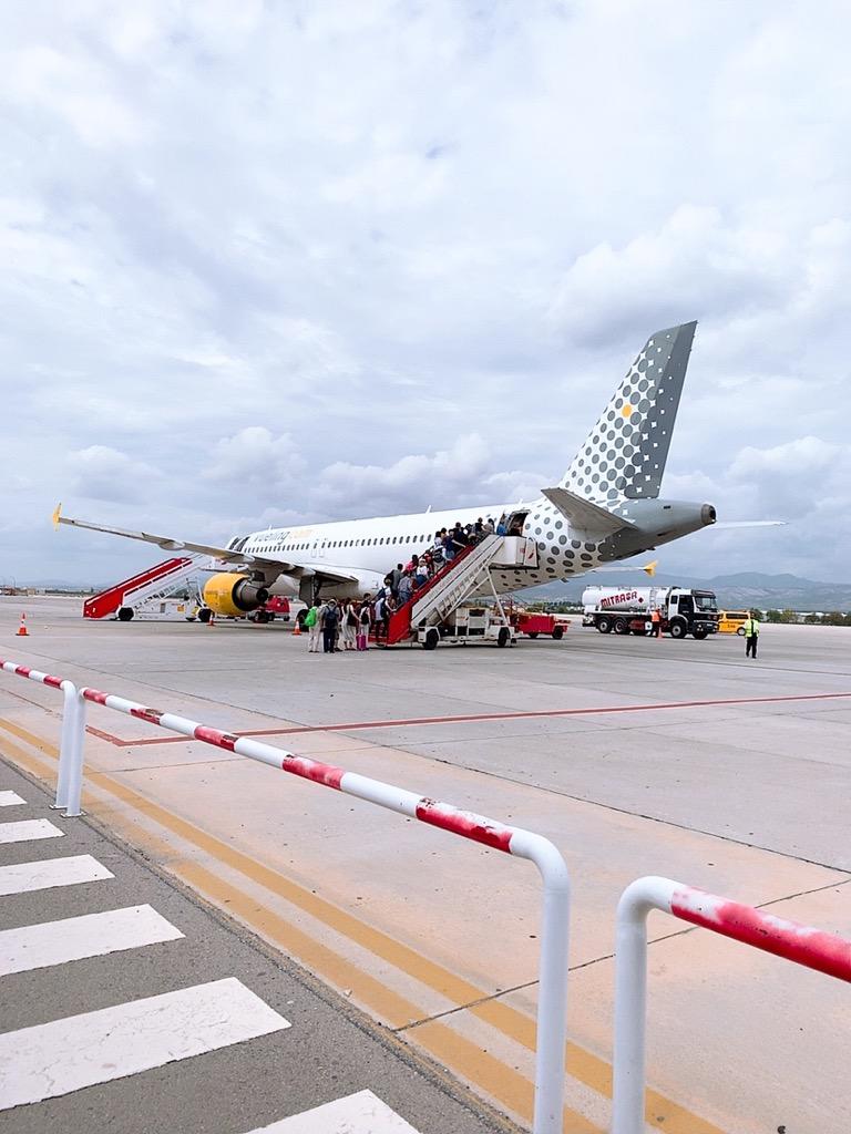 グラナダ空港 ヴェリングエアライン ヴェリング航空