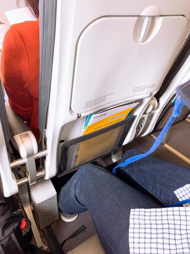 グラナダ バルセロナ ヴェリングエアライン ヴェリング航空 機内 座席