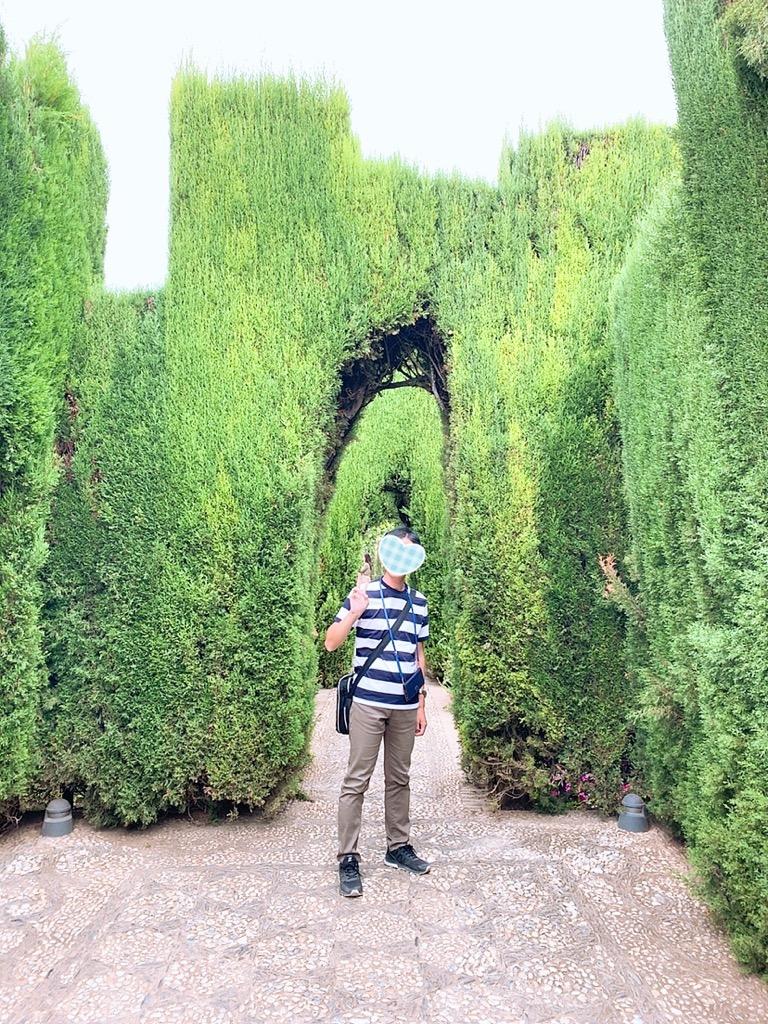 グラナダ アルハンブラ宮殿 The Alhambra 庭園 庭