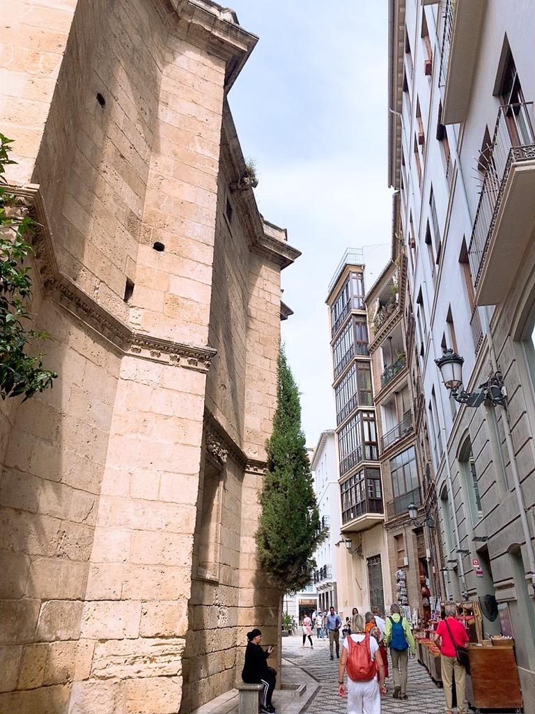 グラナダ大聖堂 周辺 観光