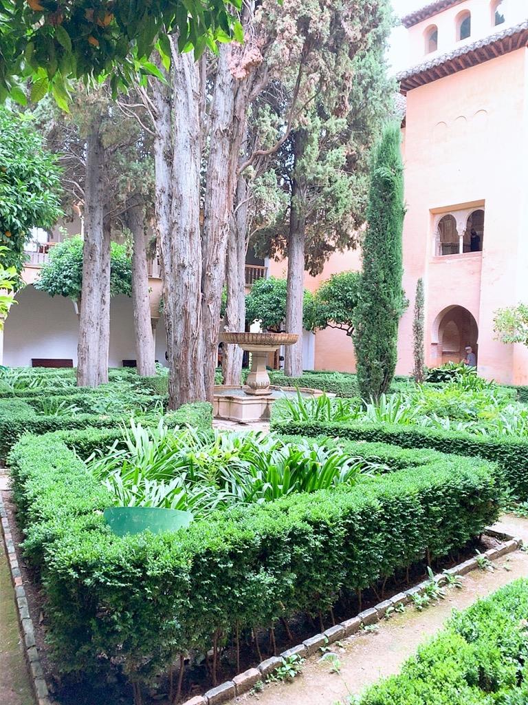 アルハンブラ宮殿 庭