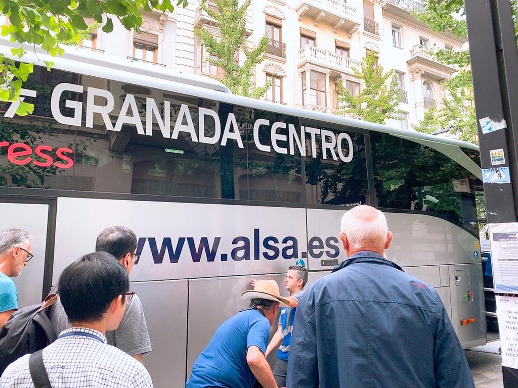グラナダ エアポートバス スーツケース トランク