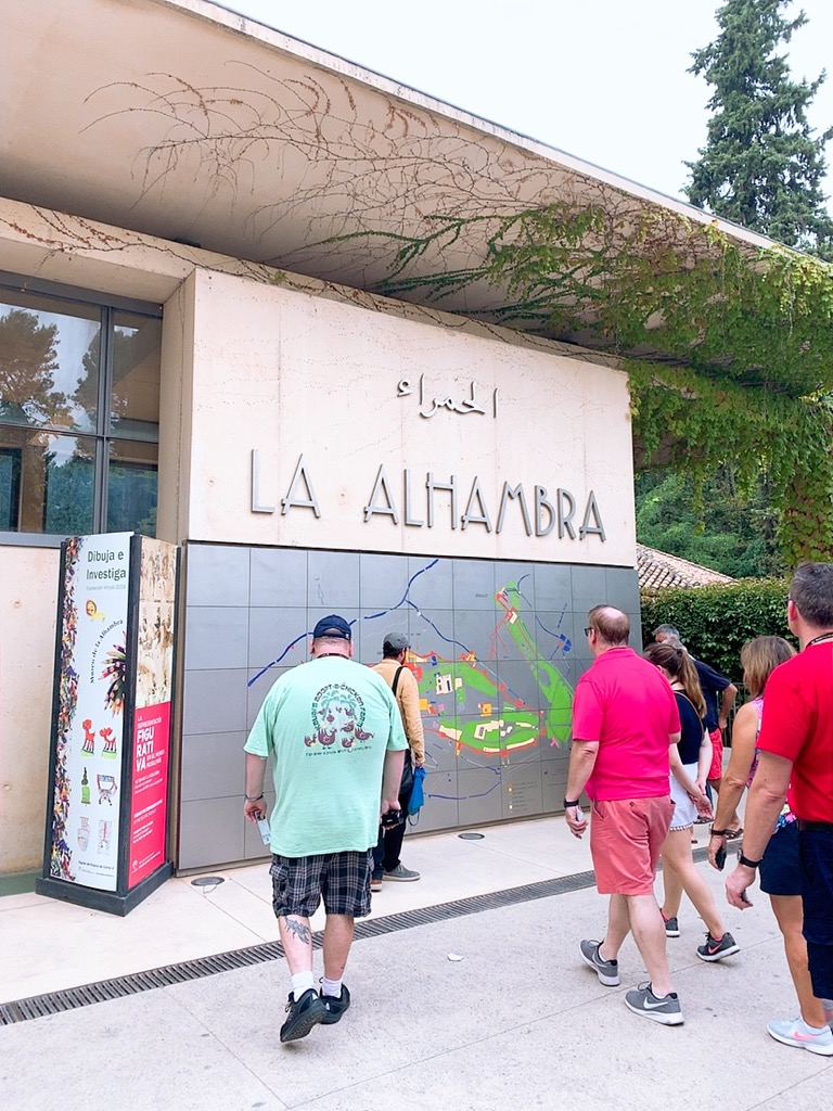 LA ALHAMBRA 入口 入場