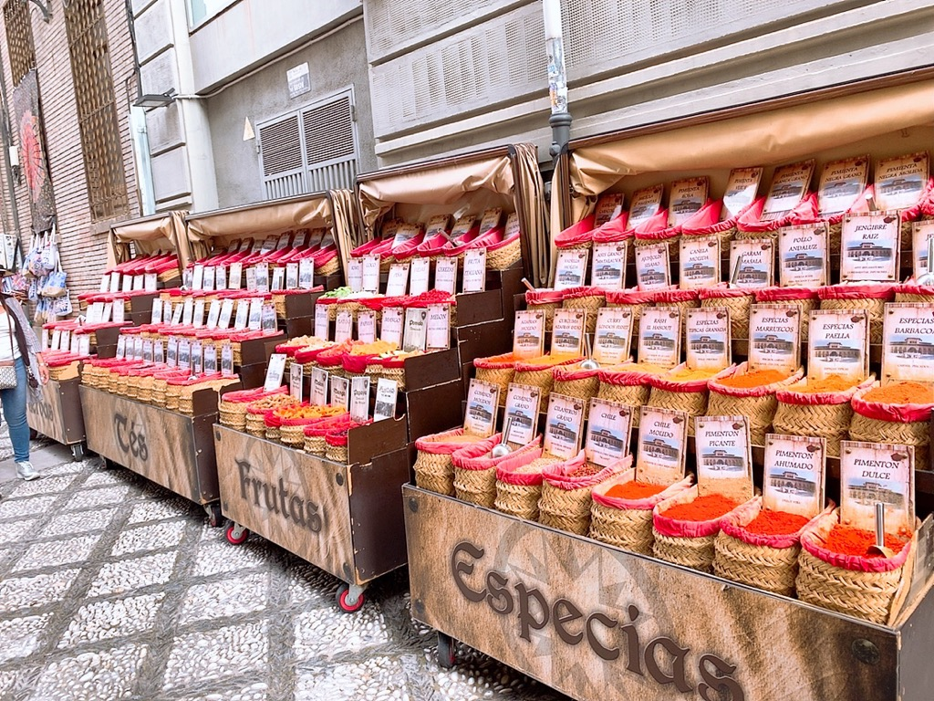グラナダ大聖堂 周辺 香辛料