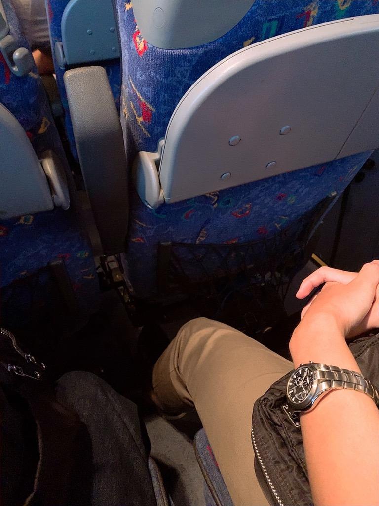 コルドバ グラナダ バス 車内 座席