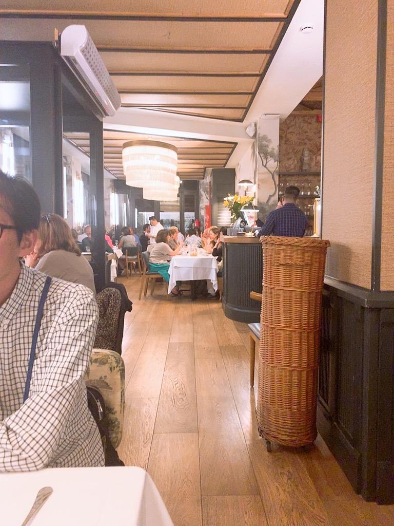 レストラン バルセロナ スペイン ディナー