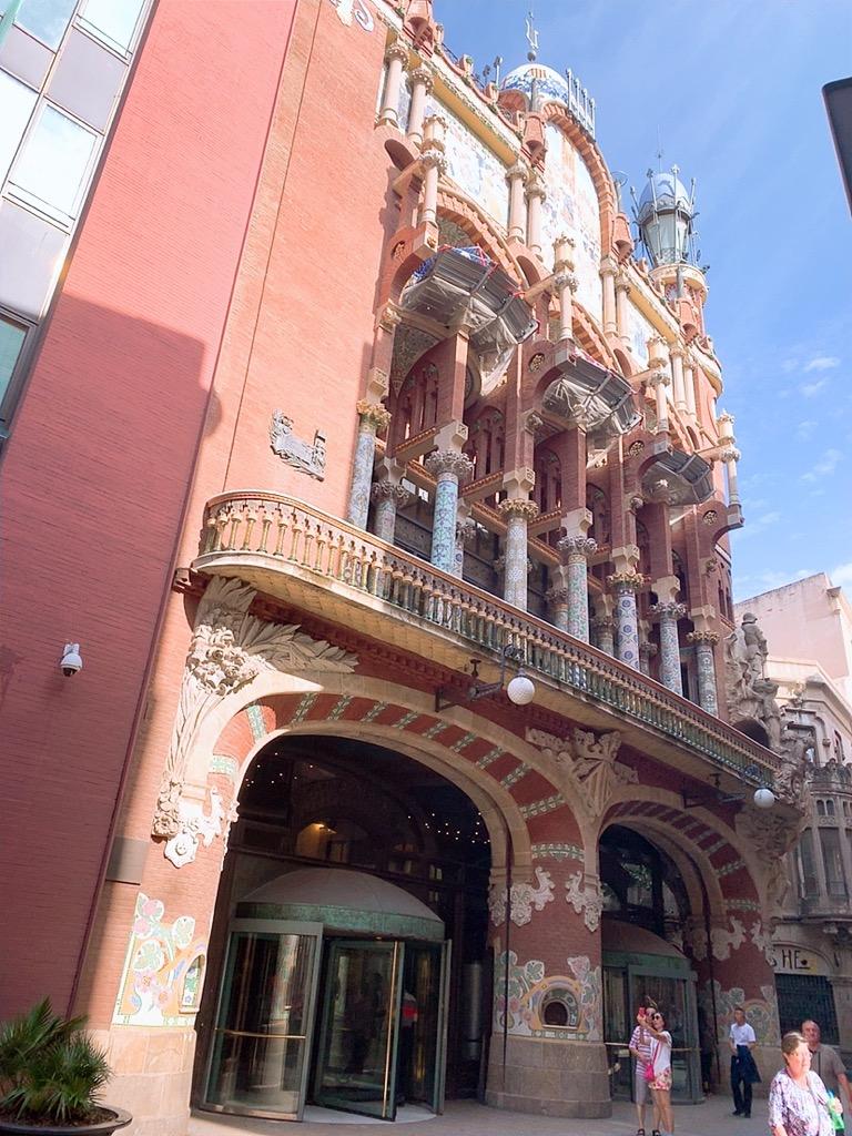スペイン バルセロナ メルセ祭り カタルーニャ音楽堂