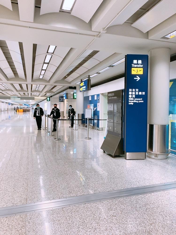 香港空港 香港 乗継 トランジット コロナ 流行 乗り継ぎ