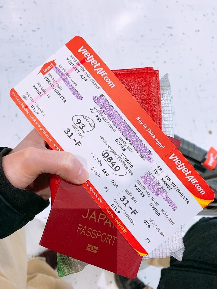 べトジェット vietjetair 成田 ハノイ 航空券
