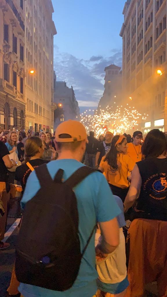 スペイン バルセロナ メルセ祭り Fiesta de Merce 場所