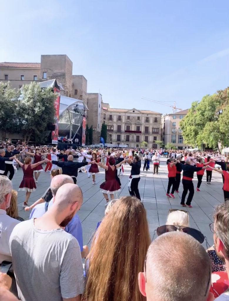 スペイン バルセロナ メルセ祭り ダンス サルダーナダンス サルダーナ