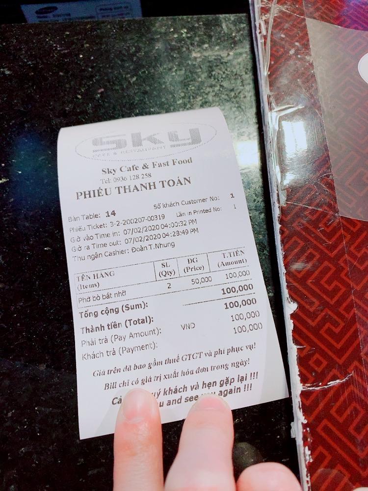 ハノイ ノイバイ空港 国内線 ダナン トランジット 乗り継ぎ 制限エリア レストラン おすすめ