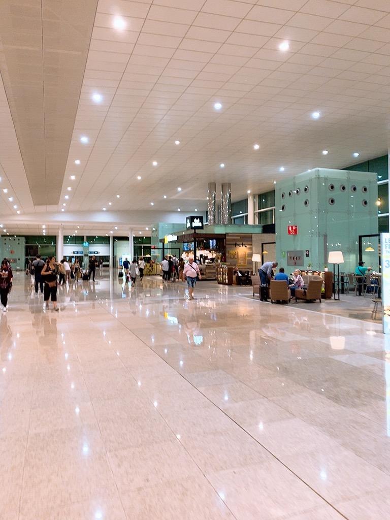 バルセロナエルプラット空港 バルセロナ 仁川 ゲート アシアナ アシアナ航空 アシアナエアライン