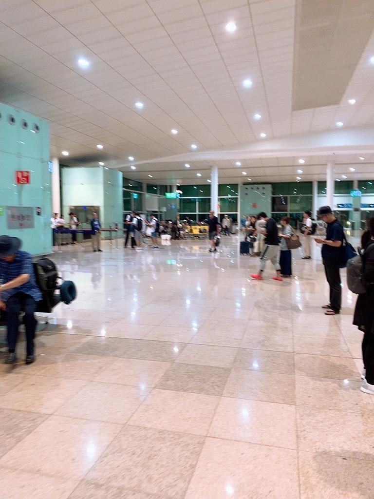 バルセロナ空港 バルセロナ 仁川 ゲート アシアナ アシアナ航空 アシアナエアライン