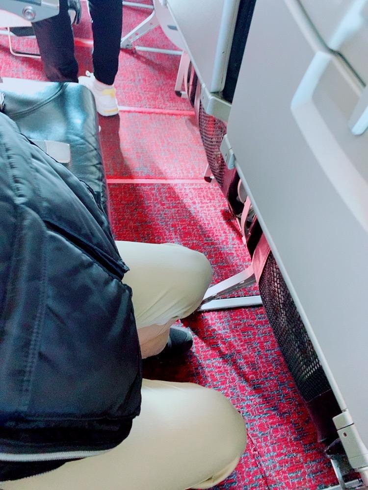 べトジェット vietjetair 成田 ハノイ 機内 座席