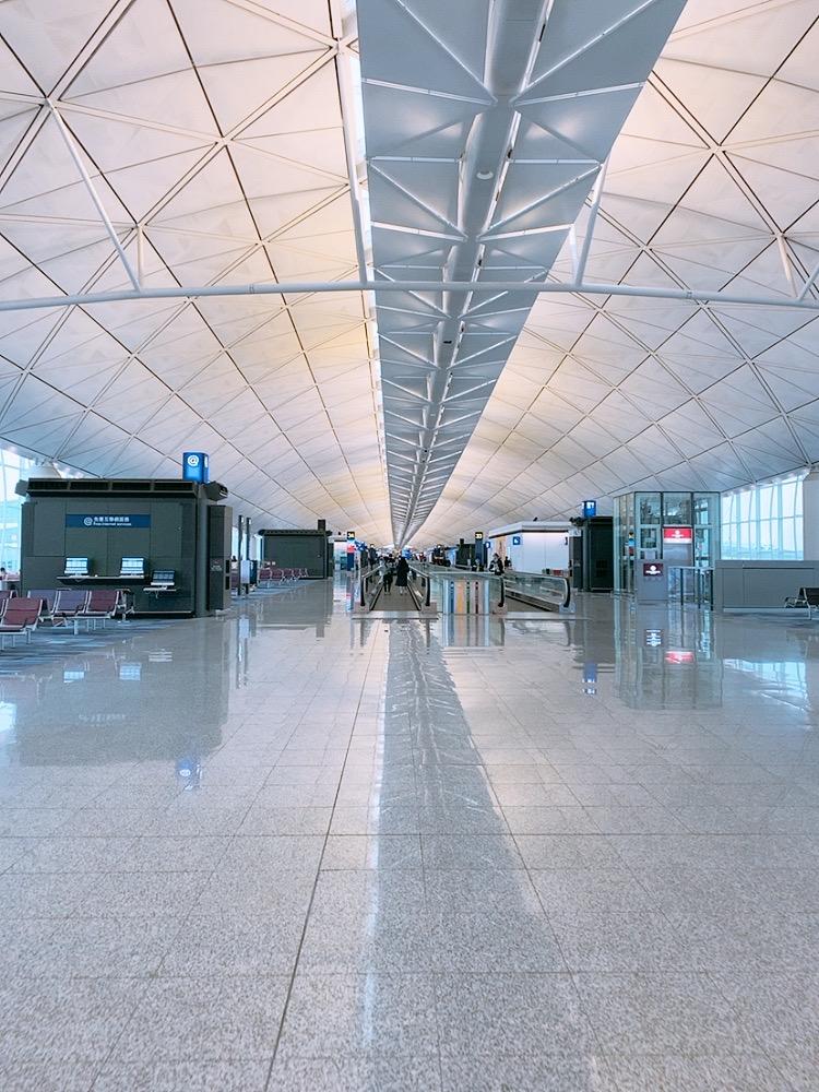 香港空港 香港国際空港 2020年 2月 コロナ 影響 トランジット 乗継 帰国 乗り継ぎ