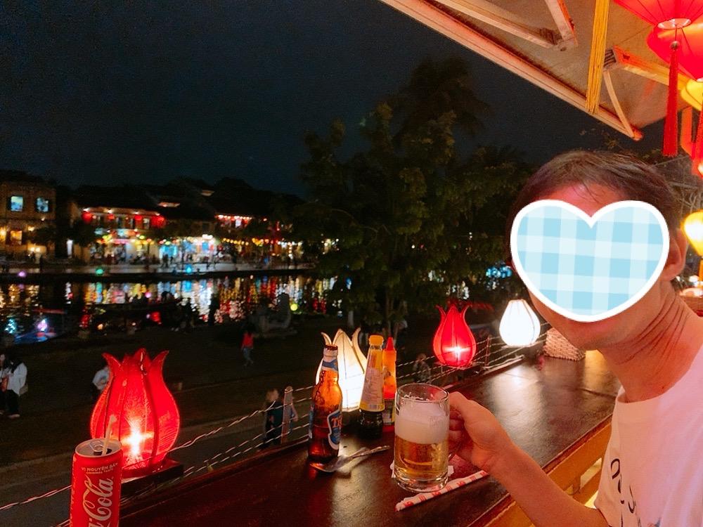 ホイアン おすすめ 食事 レストラン 川沿い 夜景 景色