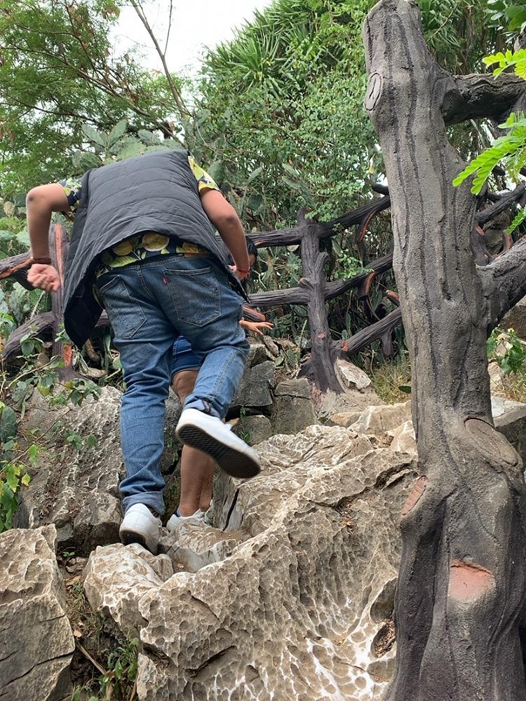 五行山 行き方 ハード 歩く 服装 洞窟