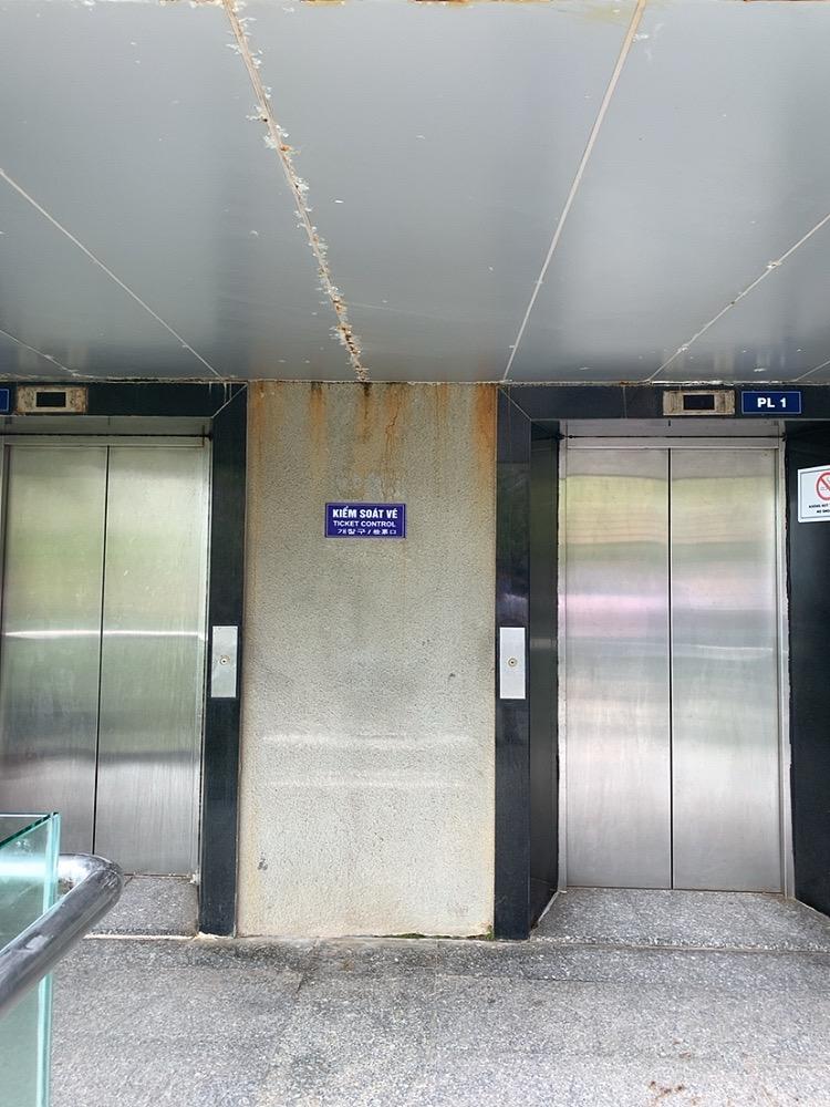 ダナン マーブルマウンテン 五行山 服装 行き方 エレベーター