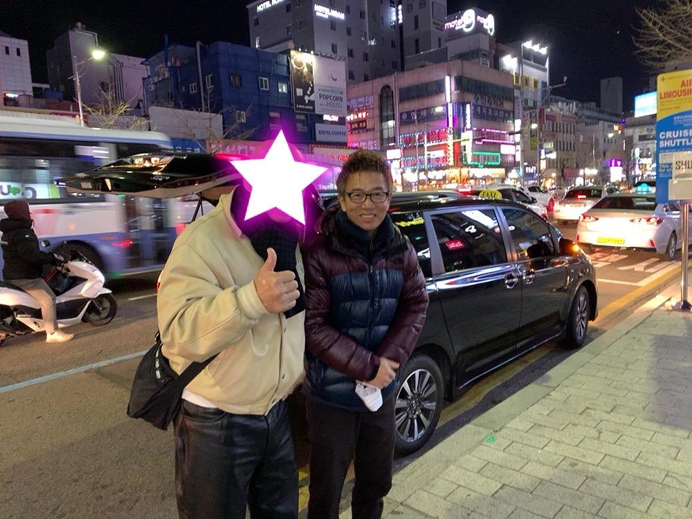韓国 釜山 タクシー チャーター 安全 大人数 大家族 観光 釜山港 5人 6人 5人以上 日本語