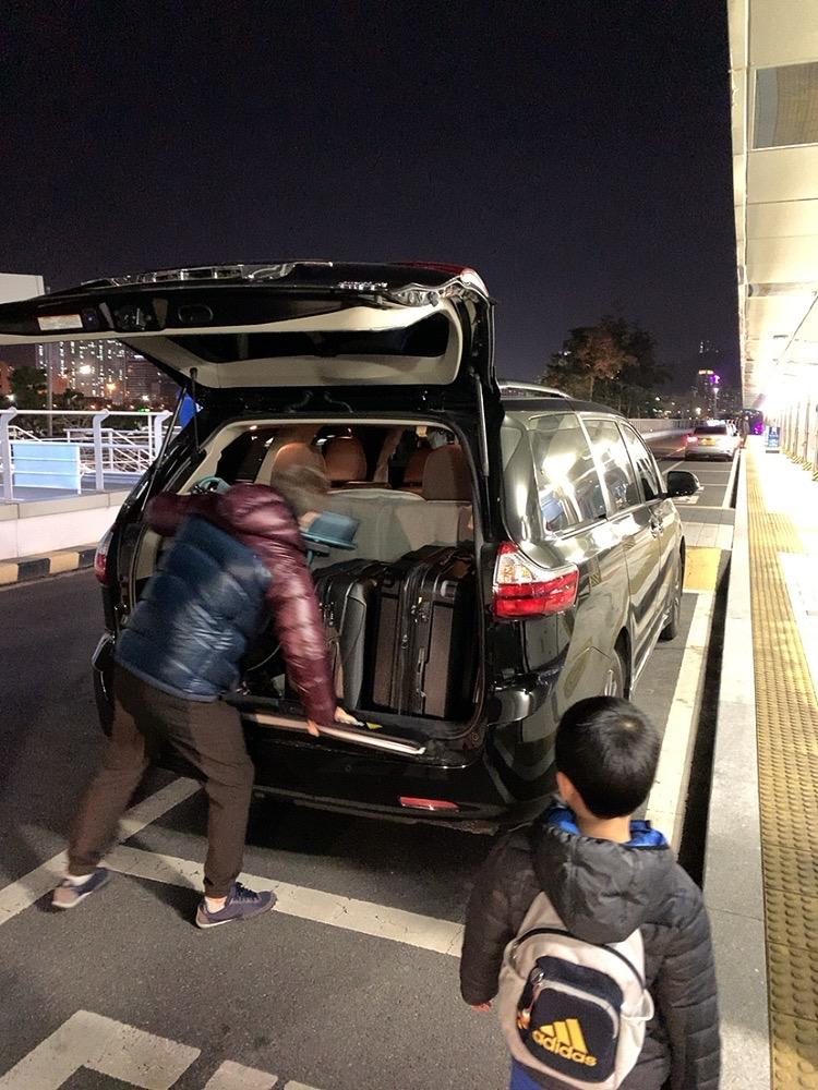 韓国 釜山 プサン タクシー チャーター 安全 大人数 大家族 5人 6人 5人以上 日本語