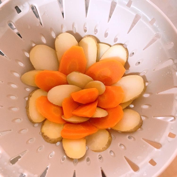 キッチン用品 人気 ザル ボール セット リベラリスタ ギフト レンジ 温野菜 レシピ