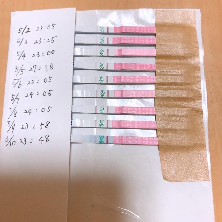 高温期 排卵検査薬 うっすら陽性 妊娠
