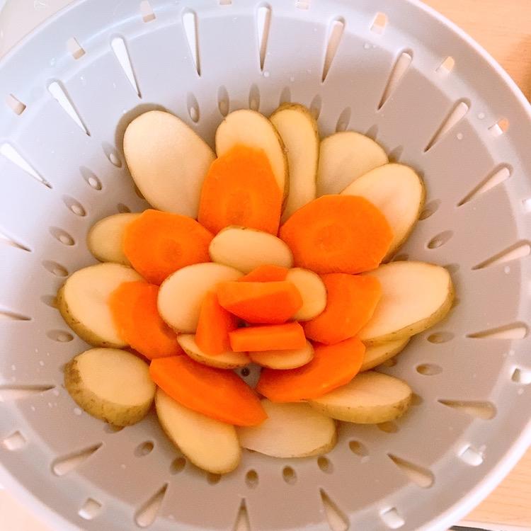 キッチン用品 人気 ザル ボール セット リベラリスタ ギフト レンジ 温野菜