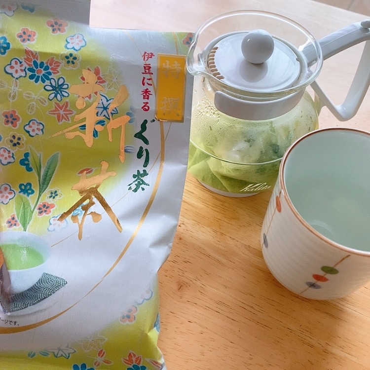 ぐり茶 市川のぐり茶 新茶