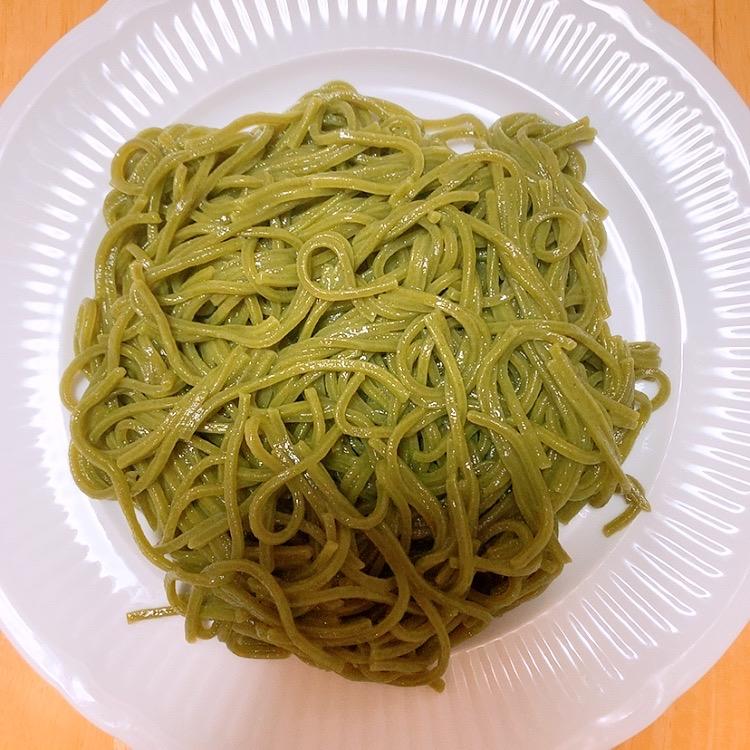 うどん 緑 めん 野菜のなちゅるん そばアレルギー 食べられる