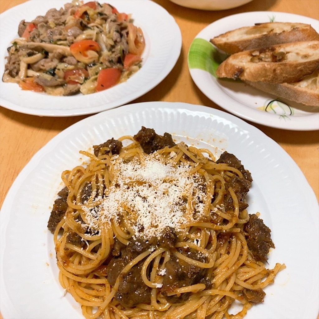 イタリアン パスタソース 混ぜるだけ 手抜き パスタ スパゲッティ ワイン好き ワインに合う