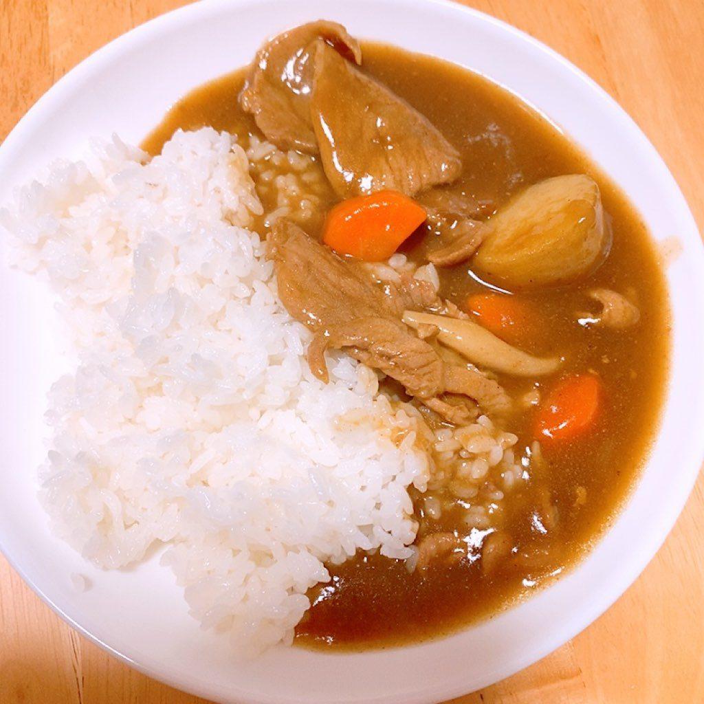 カレー ななつぼし 北海道 ご飯