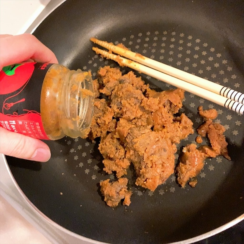 手抜き パスタ スパゲッティ― ミートソース 牛ほほ肉