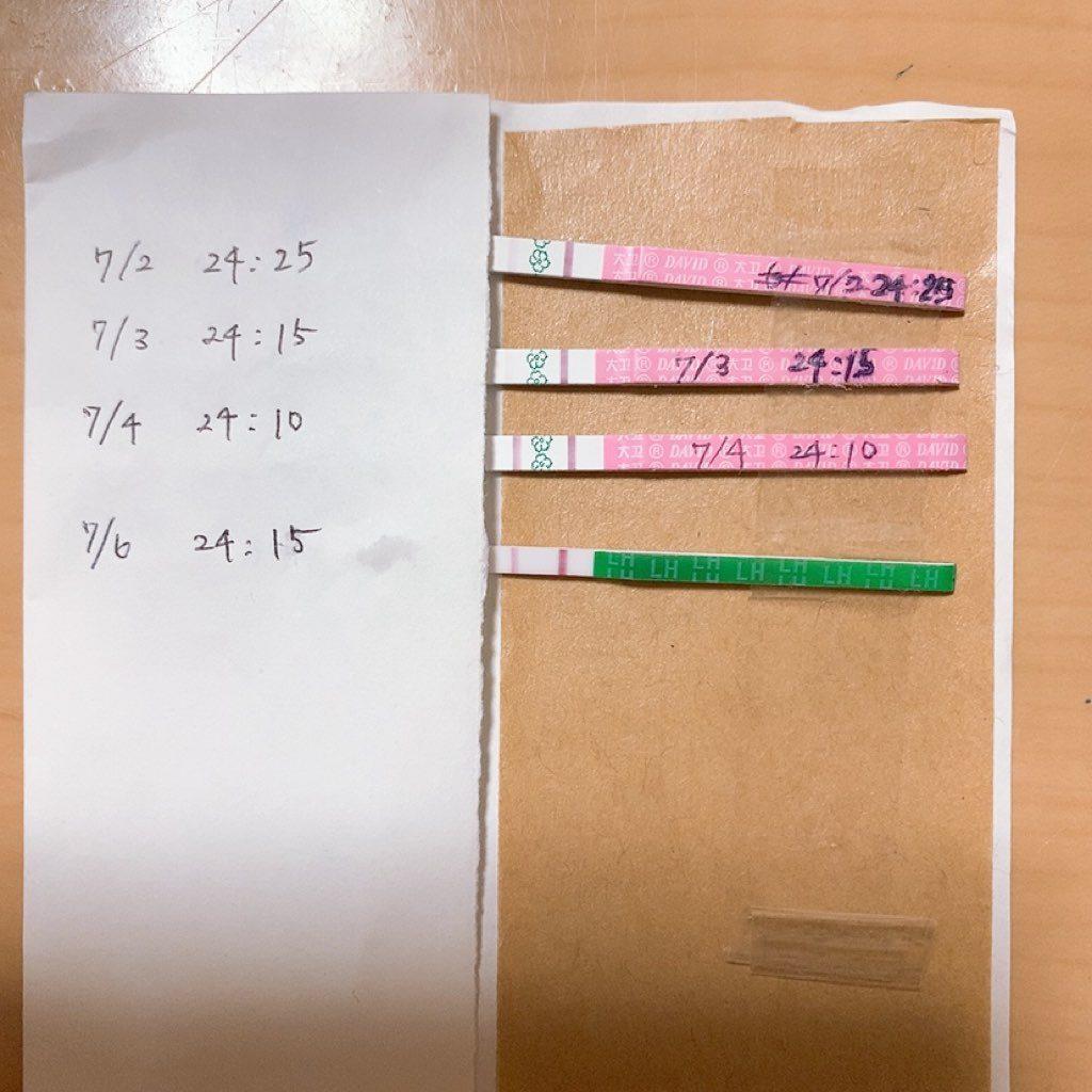 低温期16日目 クロミッド 生理16日目 排卵日チェッカー 排卵 排卵日検査薬 海外 外国