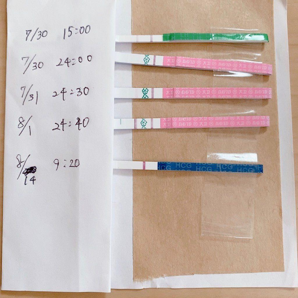 妊娠検査薬 海外製 高温期11日目 フライング 海外製 妊娠検査薬