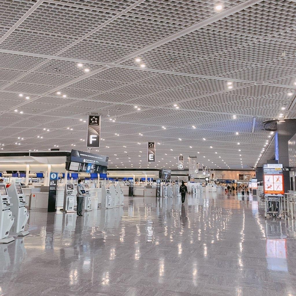 成田空港 第一ターミナル 2020 11月 早朝