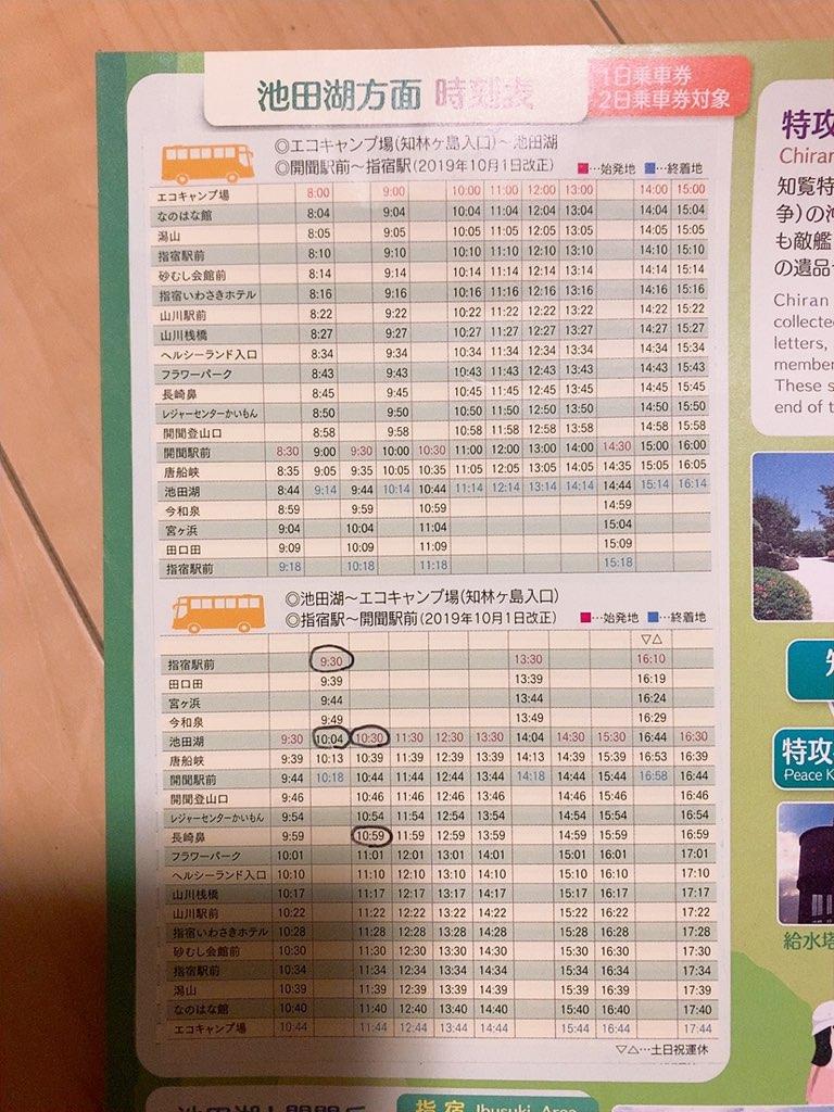 指宿 観光 バス のったりおりたりバス 時刻表