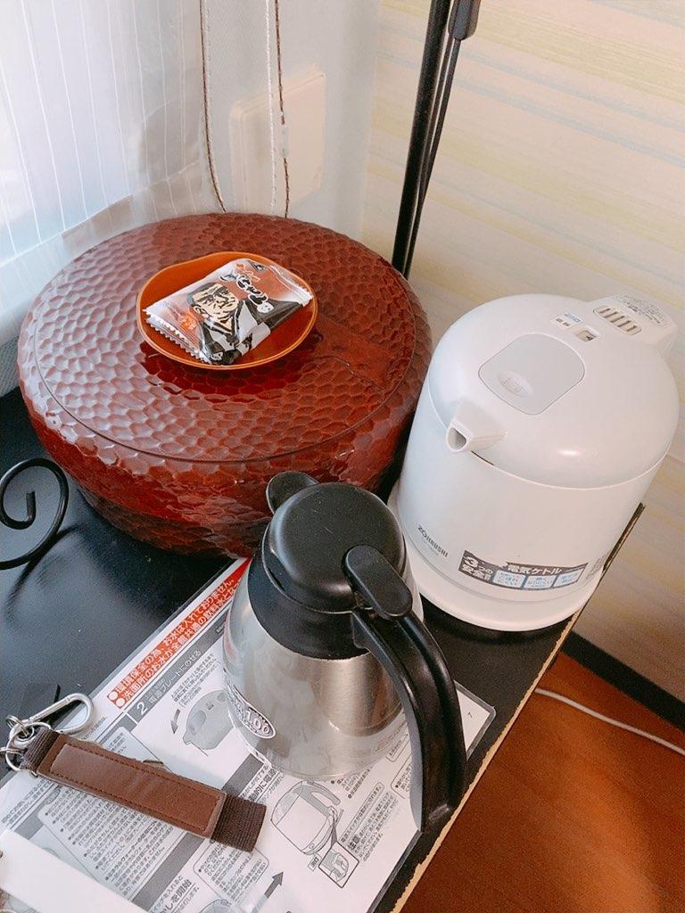 指宿 ホテル 休暇村 洋室 ダブル お茶