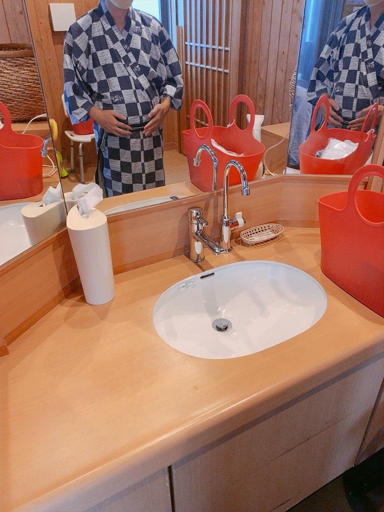 指宿 ホテル 休暇村 貸切風呂 45分 露天風呂 家族風呂 洗面台