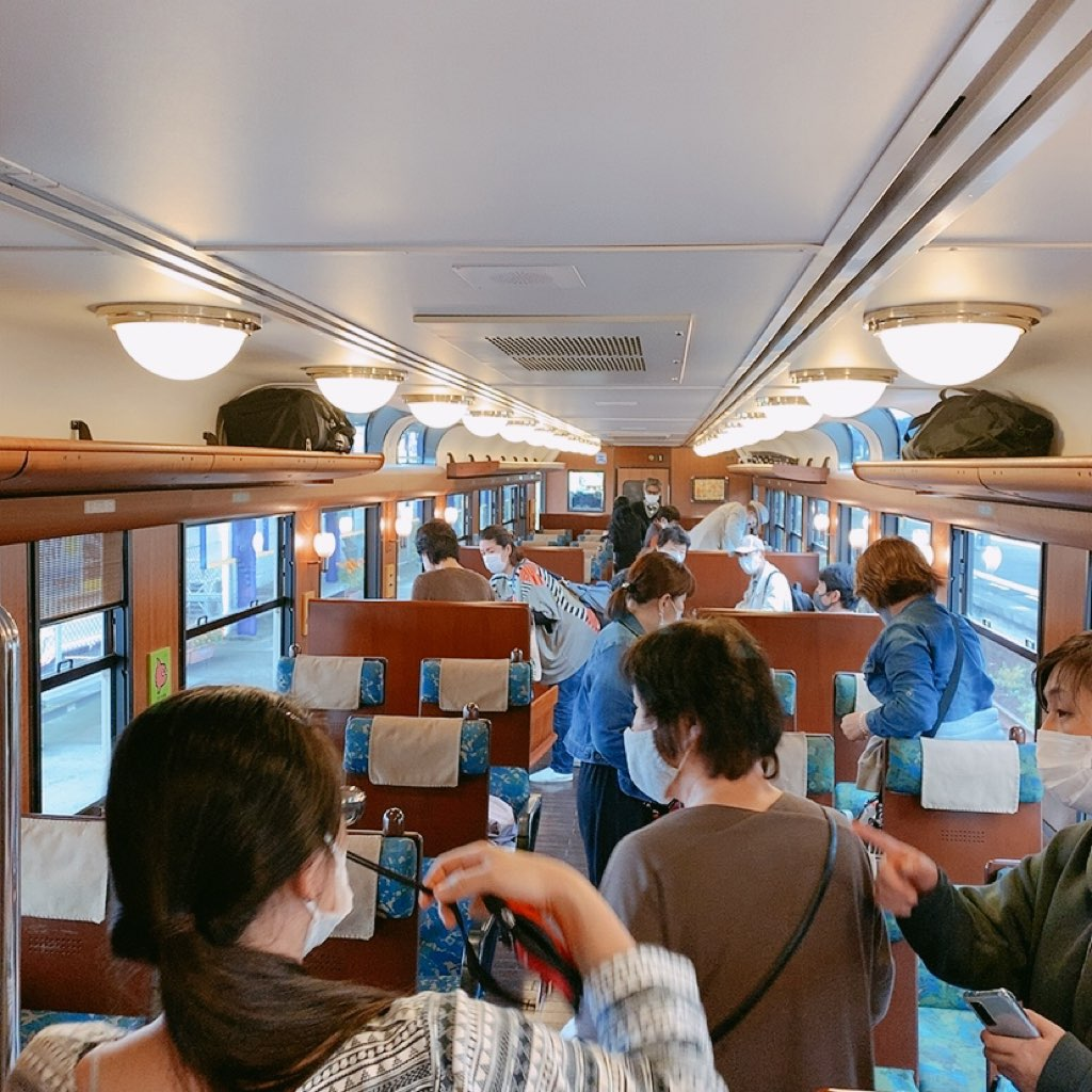 いぶたま 指宿のたまて箱 JR九州 いぶたま号 車内 座席 様子