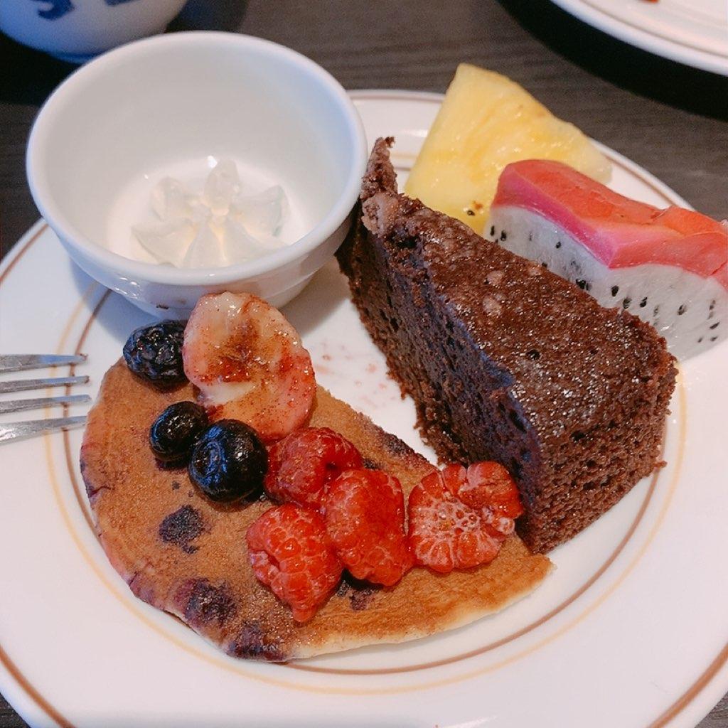 指宿 ホテル 休暇村 朝食 ビュッフェ スイーツ バイキング